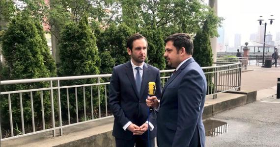 RMF FM ujawnia, jak będzie wyglądało otoczenie Pomnika Katyńskiego w Jersey City po jego przenosinach. Nasz amerykański korespondent Paweł Żuchowski spotkał się z burmistrzem Jersey City Stevenem Fulopem.