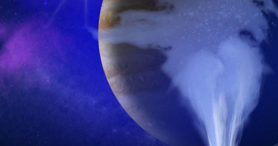 Naukowcy NASA ogłosili właśnie najnowsze informacje na temat księżyca Jowisza - Europy. Potwierdzili, że na Europie są pióropusze pary wodnej, wody lub lodu, emitowane spod lodowej, zamarzniętej powierzchni. To co zaskakuje, to fakt, że te wnioski to wynik badań przeprowadzonych... 21 lat temu. Czemu tak długo to trwało? Na obecność takich pióropuszy wskazywały już parę lat temu obserwacje teleskopu kosmicznego Hubbla, który jednak ma do Europy 600 milionów kilometrów. Wtedy przypomniano sobie o sondzie Galileo, która 21 lat temu przelatywała w odległości zaledwie 200 kilometrów. Zebrane wtedy dane poddano kolejnej analizie i okazało się, że wskazania magnetometru pokazują sygnał, który istnienie tych gejzerów pary, wody i lodu potwierdza. Woda może zapewnić warunki sprzyjające powstaniu życia. Europa staje się w ten sposób jednym z podstawowych miejsc, gdzie poza Ziemią można tego życia szukać.