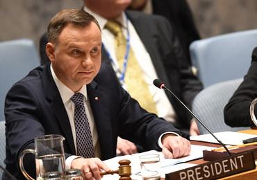 Duda w RB ONZ o katastrofie smoleńskiej: Chciałem, żeby głos w tej sprawie został dany