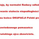 Niestety trzeba odłożyć świętowanie niepodległości Polski