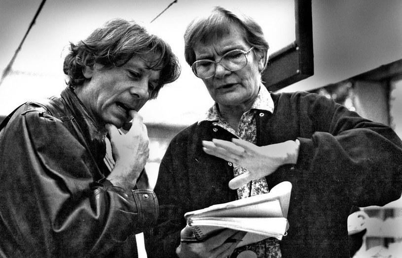 """Wśród najważniejszych kobiet w życiu Romana Polańskiego, poza żoną i córką, jest jego sekretarka planu Sylvette Baudrot. Pracują ze sobą od filmu """"Lokator"""", nakręconego w 1976 roku. Mademoiselle Baudrot jest niezdzieralna - w tym roku skończy 90 lat."""