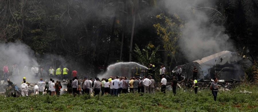 Jedna z trzech kobiet, które przeżyły piątkową katastrofę w Hawanie, 23-letnia Grettel Landrovell, zmarła w poniedziałek w wyniku odniesionych obrażeń - podały kubańskie media. Tym samym liczba ofiar katastrofy Boeinga 737 w Hawanie wzrosła do 111 osób. Od czasu katastrofy 23-latka pozostawała w stanie śpiączki i do końca nie odzyskała świadomości - podała telewizja państwowa.