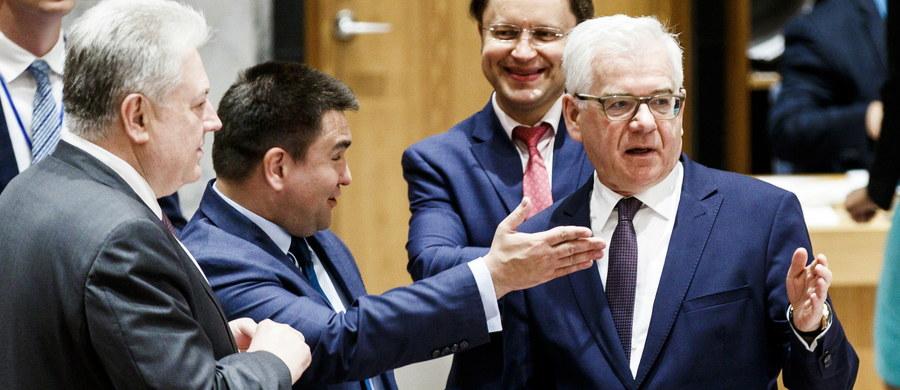 """Szef polskiej dyplomacji Jacek Czaputowicz przewodniczył posiedzeniu Rady Bezpieczeństwa ONZ poświęconemu sytuacji na Ukrainie. Minister podkreślił, że wola Ukraińców, by stać się częścią Zachodu, nie zostanie złamana. Minister przypomniał w swym wystąpieniu o przypadającej w tym roku czwartej rocznicy """"rewolucji godności"""" na Ukrainie. Mówił o woli Ukraińców, by stać się częścią społeczności Zachodu partej na demokracji i rządach prawa, kwitnącym społeczeństwie obywatelskim i dobrze zbudowanej gospodarce rynkowej."""