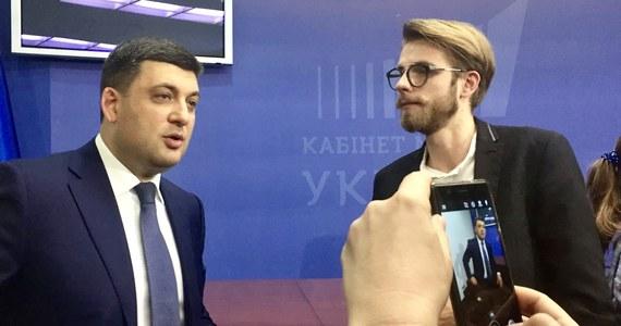"""""""Chciałbym się spotkać z premierem Morawieckim"""" - przyznał w rozmowie z  dziennikarzem RMF FM Patrykiem Michalskim premier Ukrainy Wołodymyr Hrojsman, który w Kijowie rozmawiał z przedstawicielami ważnych europejskich mediów."""
