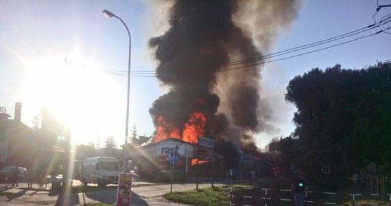 Pożar supermarketu w Działdowie w woj. warmińsko-mazurskim. Taką informację dostaliśmy na Gorącą Linię RMF FM od naszego słuchacza.