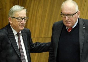 Timmermans kontra Juncker. Kością niezgody Polska