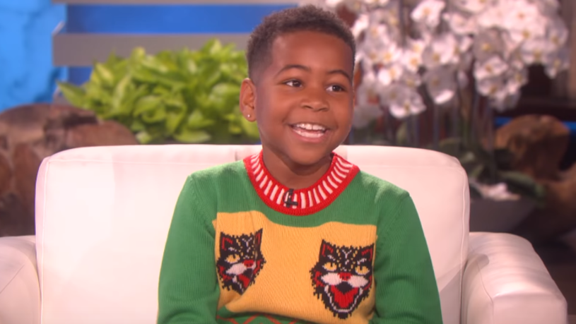"""9-letni Young Dylan, który był gościem Ellen DeGeneres, brawurowo wykonał cover utworu """"HUMBLE."""" Kendricka Lamara."""