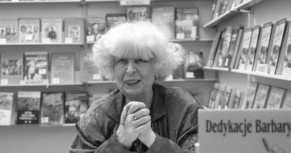 Nie żyje pisarka, fotografik, scenarzystka i publicystka Barbara Wachowicz-Napiórkowska. Zmarła w wieku 81 lat.