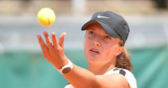 Iga Świątek odpadła w półfinale rywalizacji juniorek wielkoszlemowego turnieju French Open. 17-letnia tenisistka przegrała w Paryżu z Amerykanką Caty McNally - swoją partnerką deblową - 6:3, 6:7 (8-10), 4:6.