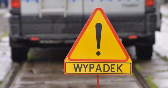 Kierowca samochodu osobowego i czworo jadących z nim dzieci to osoby poszkodowane w wypadku w Imiołkach w powiecie gnieźnieńskim w Wielkopolsce. Rannych przetransportowano do szpitali w Gnieźnie i Poznaniu.