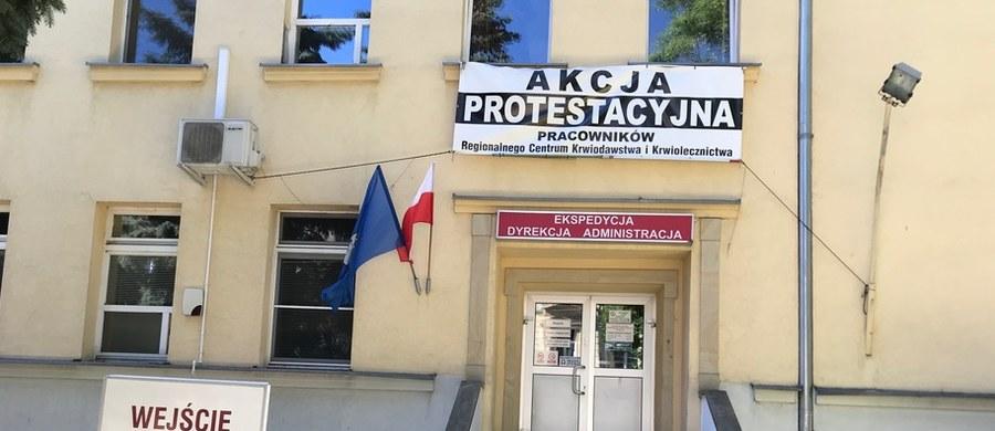 98 procent głosujących za protestem w Regionalnym Centrum Krwiodawstwa i Krwiolecznictwa w Lublinie. Na to wskazują przedstawione właśnie wyniki trzydniowego referendum.