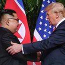 Histeryczne spotkanie Kim Dzong Una z Trumpem
