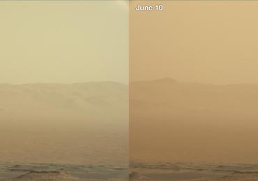Czy łazik Opportunity przetrwa burzę na Marsie?