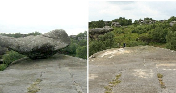 Głaz znany jako Millstone Grit stał dumnie od 320 milionów lat. Był atrakcją turystyczną Yorkshire w Wielkiej Brytanii. Pochodzący z epoki lodowcowej zabytek przyrody został jednak zniszczony przez młodocianych wandali.
