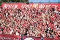 2. liga. Widzew Łódź i Górnik Łęczna awansowały do 1. Ligi. Pseudokibice wtargnęli na murawę!