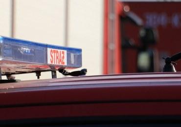 Śląskie: Dwie osoby ranne po wybuchu gazu w trakcie prac ziemnych