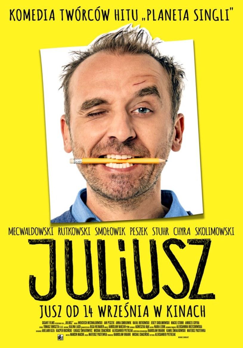 """14 września na ekrany kin trafi komedia """"Juliusz"""" - nowy film producentów """"Planety Singli""""."""