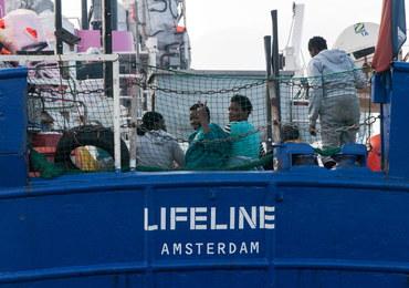 Statek z migrantami Lifeline wpuszczony na Maltę
