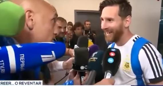 Czerwona wstążka przewiązana wokół kostki i ukryta pod skarpetką przyniosła szczęście słynnemu Argentyńczykowi w meczu z Nigerią? Jego drużyna wygrała spotkanie 2:1.