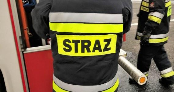 Rozszczelnienie zaworu z gazem LPG na stacji benzynowej przy ulicy Łużyckiej w Krakowie. Informację dostaliśmy na Gorącą Linię RMF FM.