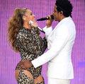 Beyonce i Jay-Z w Warszawie: Wpadka z drabiną