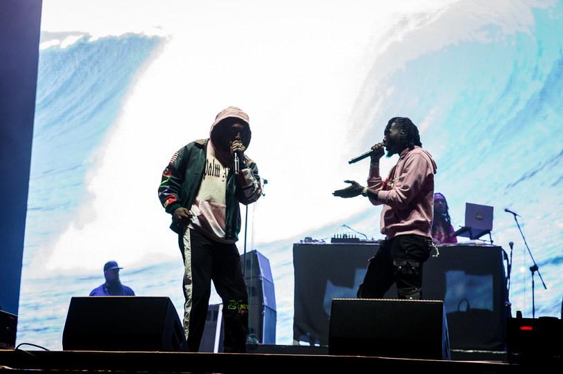 Hiphopowy skład Migos zamknął zmagania pierwszego dnia na głównej scenie Open'er Festival. Był to pierwszy koncert gwiazdorskiego tria w naszym kraju.