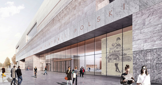 """Na terenie Cytadeli Warszawskiej symbolicznym """"wbiciem pierwszej łopaty"""" rozpoczęto budowę siedziby Muzeum Historii Polski. Jej otwarcie jest planowane na pierwszy kwartał 2021 roku."""