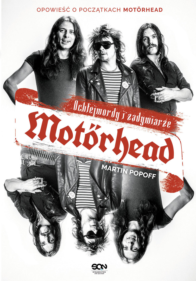 """Śmierć Lemmy'ego Kilmistera w grudniu 2015 r. ostatecznie zakończyła burzliwą historię Motörhead, najgłośniejszego zespołu w historii rocka. Poniżej możecie przeczytać fragment książki """"Motörhead: Ochlejmordy i zadymiarze"""" opowiadającej o początkach brytyjskiej formacji."""