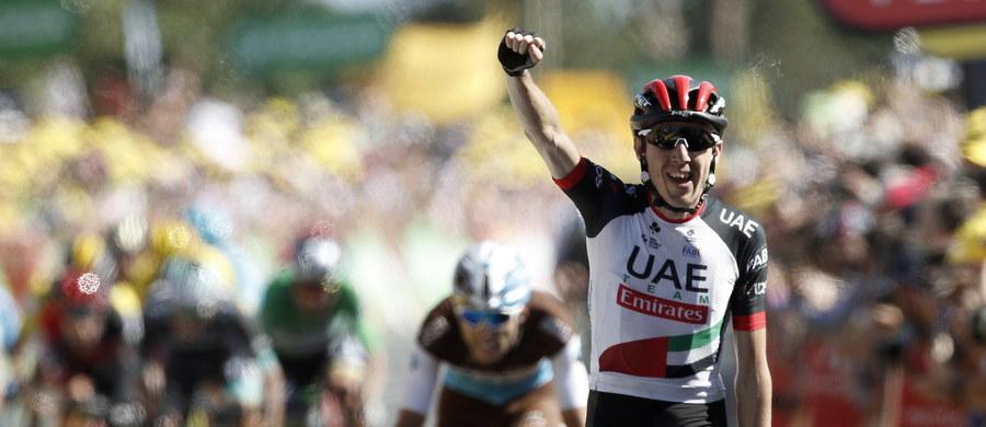 Irlandczyk Dan Martin wygrał w Mur-de-Bretagne szósty etap wyścigu kolarskiego Tour de France. Piąte miejsce zajął Rafał Majka. Żółtą koszulkę lidera zachował Belg Greg van Avermaet.