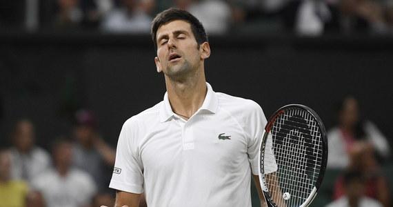 """Półfinał Wimbledonu z udziałem rozstawionego z """"dwójką"""" Hiszpana Rafaela Nadala i Serba Novaka Djokovica (12.) został przerwany z powodu zbyt późnej pory. Spotkanie zostanie dokończone w sobotę przy stanie 6:4, 3:6, 7:6 (11-9) dla drugiego z tenisistów."""