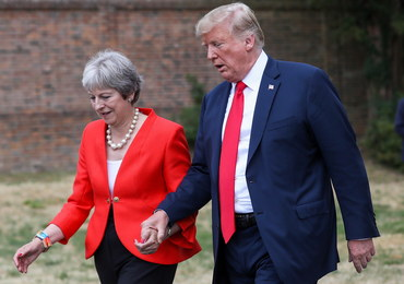 Zaskakująca rada Donalda Trumpa dla Theresy May