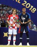 Mundial 2018. Luka Modrić otrzymał Złotą Piłkę