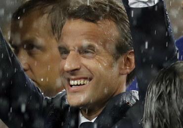 Prezydent Francji: Jestem szczęśliwy i dumny