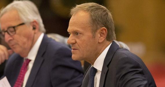 Chiny, Stany Zjednoczone i Rosja mają obowiązek, by nie rozpoczynać wojen handlowych - powiedział w Pekinie przewodniczący Rady Europejskiej Donald Tusk. Wezwał te trzy kraje do działań na rzecz zreformowania Światowej Organizacji Handlu (WTO).