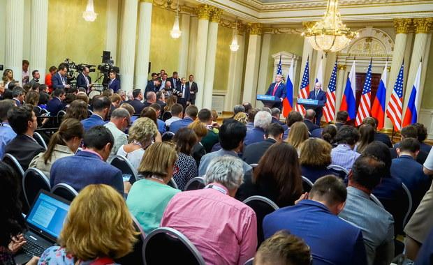 """Republikanie i Demokraci w Kongresie USA skrytykowali Donalda Trumpa za jego wypowiedzi w Helsinkach w sprawie ingerencji Moskwy w wybory prezydenckie. Prezydent musi uznać, że Rosja """"nie jest naszym przyjacielem"""" - powiedział lider Republikanów w Kongresie Paul Ryan."""