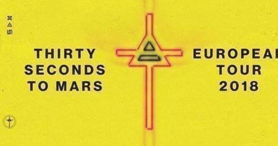 Zespół z wielokrotną platyną na koncie Thirty Seconds To Mars ogłasza drugi koncert w Polsce. 29 sierpnia 2018 roku wystąpi na Tauron Arena Kraków.