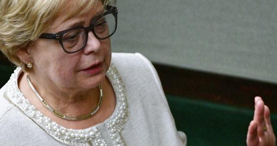 """""""Polska jest wciąż młodą demokracją i jako jedno z najsłabszych ogniw w europejskim łańcuchu narodów stanowi papierek lakmusowy stanu całej Unii Europejskiej"""" - oceniła w Karlsruhe sędzia Małgorzata Gersdorf."""