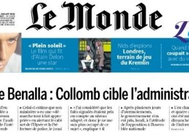 Skandal wokół wiceszefa kancelarii Macrona. Szef MSW zrzuca winę na prezydenta