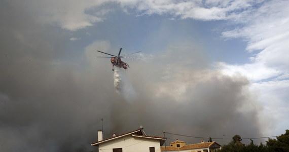 Z powodu upału w Atenach na trzy godziny zamknięto Akropol. Stolicę Grecji spowija gęsty dym. Na zachód od miasta szaleje pożar.