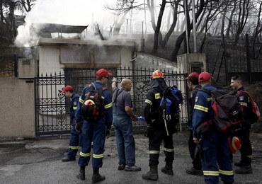 MSZ potwierdza: Wśród ofiar pożarów w Grecji jest dwoje obywateli polskich