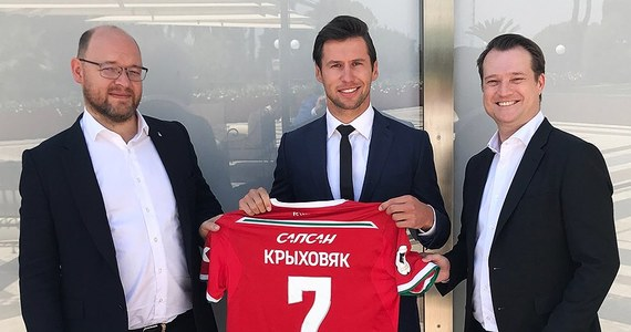 Grzegorz Krychowiak został na rok wypożyczony z Paris Saint-Germain do Lokomotiwu Moskwa - poinformował na stronie internetowej piłkarski mistrz Rosji.