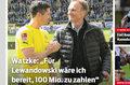 Watzke: Za Lewandowskiego zapłaciłbym sto milionów