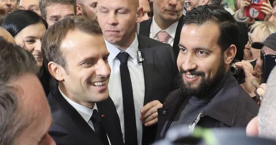 Prezydent Francji Emmanuel Macron wziął na siebie pełną odpowiedzialność w sprawie jego współpracownika, Alexandre'a Benalli, który na demonstracji 1 maja pobił parę młodych manifestantów - poinformowała późnym wieczorem agencja AFP.