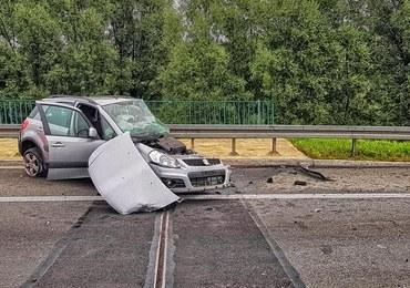 Poważne wypadki na autostradach. Na A4 33-latek jechał pod prąd
