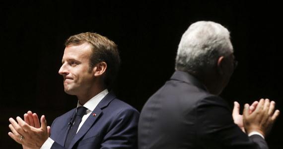 """Podróż prezydenta Francji Emmanuela Macrona do Madrytu i Lizbony stała się dla niego okazją  do przedstawienia wizji Europy tzw. koncentrycznych kręgów, w której całkowicie zmarginalizowane byłyby kraje oskarżane o """"populizm""""."""
