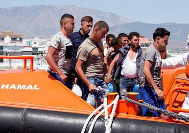 Rekordowo dużo imigrantów przypłynęło ostatnio do Hiszpanii