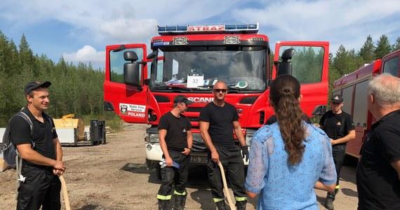 Księżniczka Wiktoria, następczyni szwedzkiego tronu odwiedziła polskich strażaków, którzy pomagają w gaszeniu pożarów lasów w Szwecji. Księżniczka podczas swojej niezapowiedzianej wizyty rozmawiała m.in. o warunkach, w jakich pracują Polacy.