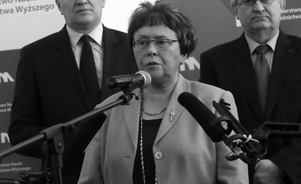 W Krakowie zmarła w poniedziałek prof. Maria Dzielska, historyk, filolog klasyczny, tłumaczka tekstów źródłowych - poinformował rzecznik prasowy Uniwersytetu Jagiellońskiego Adrian Ochalik. 18 września prof. Dzielska skończyłaby 76 lat.