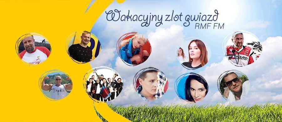 Macie już plan na 1 sierpnia? Jeśli nie, to spędźcie ten dzień razem z gwiazdami i RMF FM na Zlocie Gwiazd w Gdańsku! Będzie najlepsza muzyka, świetna zabawa, darmowe lody, Natalia Szroeder, Artur Siódmiak, Antek Smykiewicz i oczywiście - nie może zabraknąć słuchaczy RMF FM!