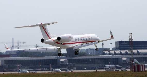 RMF FM: Polish VIPs can now fly with the Gulfstream  The